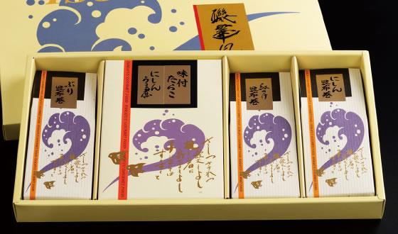 室屋の昆布小箱 富山の幸3点セット